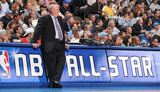 HEADCOACH WESTERN CONFERENCE: George Karl (Denver Nuggets), Saison-Bilanz: 35 Siege - 18 Niederlagen