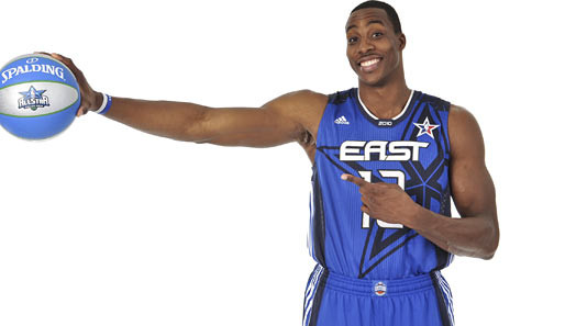 Dwight Howard (Orlando Magic), Center, 4. Nominierung. Saison-Stats: 18,0 Punkte, 13,3 Rebounds, 2,7 Blocks