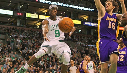 Rajon Rondo (Boston Celtics), Guard, 1. Nominierung. Saison-Stats: 14,3 Punkte, 9,7 Assists, 2,5 Steals
