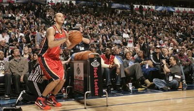 Three-Point-Shootout: Rookie Stephen Curry hat keine Chance...