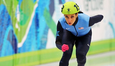 Allison Baver (USA) - Shorttrack