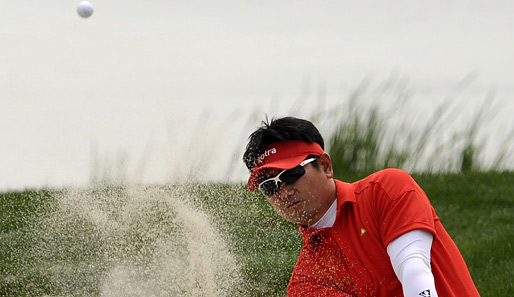 Raus aus dem Bunker will Y. E. Yang bei den Volvo China Open