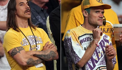 Bekennende Lakers-Fans: Die Red Hot Chilli Peppers