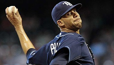 Der Pitcher mit den meisten Siegen (12) in der AL - David Price (Tampa Bay Rays), All-Star-Debüt