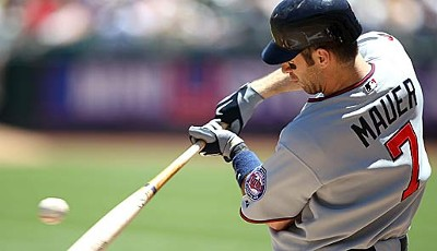 AMERICAN LEAGUE: Catcher - Joe Mauer (Minnesota Twins), 4. All-Star-Nominierung