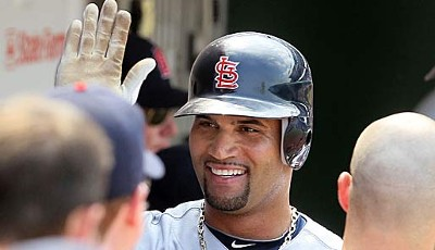 First Baseman - Albert Pujols (St. Louis Cardinals), 9. All-Star-Nominierung