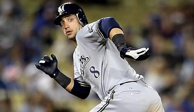 Left Fielder - Ryan Braun (Milwaukee Brewers), 3. All-Star-Nominierung