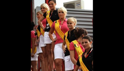Gridgirls, Belgien, GP, Spa, Formel 1, Promotion, Girls, sexy, Bikini