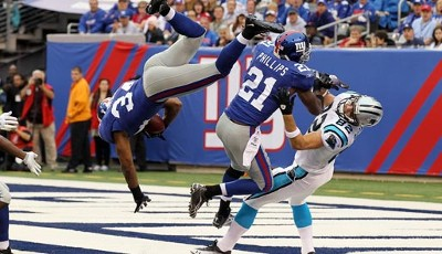 New York Giants - Carolina Panthers 31:18 - Welcome to the New Meadowlands - und zu einem hektischen Spiel zwischen Giants und Panthers