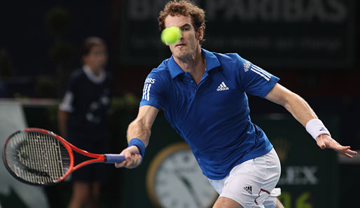 Andy Murray (Schottland) - Bilanz 2010: 44-16, 2 Turniersiege
