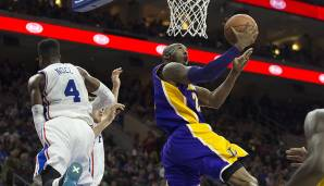 PLATZ 3: Kobe Bryant (1996-2016) - 33.643 Punkte in 1346 Spielen - Los Angeles Lakers