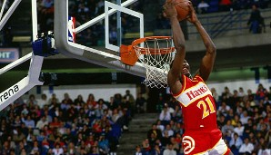 PLATZ 12: Dominique Wilkins - 26.668 Punkte in 1074 Spielen - Atlanta Hawks, L.A. Clippers, Boston Celtics, San Antonio Spurs, Orlando Magic