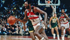 PLATZ 8: Elvin Hayes - 27.313 Punkte in 1303 Spielen - San Diego Rockets, Baltimore/Washington Bullets, Houston Rockets