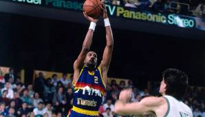 PLATZ 18: Alex English (1976-1991) - 25.613 Punkte in 1193 Spielen - Milwaukee Bucks, Indiana Pacers, Denver Nuggets, Dallas Mavericks