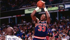 PLATZ 21: Patrick Ewing (1985-2002) - 24.815 Punkte in 1183 Spielen - New York Knicks, Seattle SuperSonics, Orlando Magic