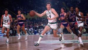 PLATZ 15: John Havlicek (1962-1978) - 26.395 Punkte in 1270 Spielen - Boston Celtics
