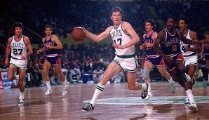 PLATZ 13: John Havlicek - 26.395 Punkte in 1270 Spielen - Boston Celtics