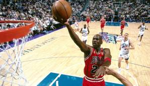 PLATZ 4: Michael Jordan (1984-1993, 1994-1998, 2001-2003) - 32.292 Punkte in 1072 Spielen - Chicago Bulls, Washington Wizards
