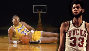 PLATZ 1: Kareem Abdul-Jabbar - 38.387 Punkte in 1560 Spielen - Milwaukee Bucks, Los Angeles Lakers