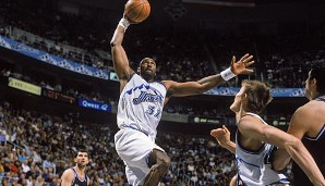 PLATZ 2: Karl Malone - 36.928 Punkte in 1476 Spielen - Utah Jazz, Los Angeles Lakers