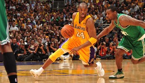 PLATZ 4: Kobe Bryant - 31.700 Punkte in 1245 Spielen - Los Angeles Lakers (Stand 19.08.2014)