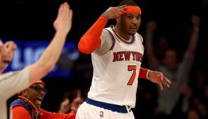 PLATZ 25: Carmelo Anthony (2003 - heute)- 23.936 Punkte in 964 Spielen - Denver Nuggets, New York Knicks (Stand 07.03.2017)
