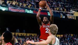 PLATZ 8: Moses Malone (1974-1995) - 27.409 Punkte in 1329 Spielen - u.a. Houston Rockets, Philadelphia 76ers, Washington Bullets, Atlanta H
