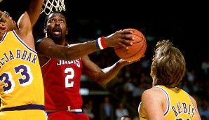 PLATZ 7: Moses Malone - 27.409 Punkte in 1329 Spielen - u.a. Houston Rockets, Philadelphia 76ers, Washington Bullets, Atlanta Hawks