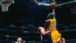 PLATZ 7: Shaquille O'Neal (1992-2011) - 28.596 Punkte in 1207 Spielen - Orlando Magic, L.A. Lakers, Miami Heat, Phoenix Suns, Cleveland Cavaliers, Boston Celtics