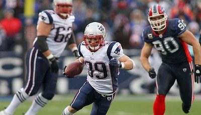 Buffalo Bills - New England Patriots 3:34: Die Jets wollten Danny Woodhead nicht, also holten ihn die Pats - und der kleine Wirbelwind ist eingeschlagen wie eine Bombe!
