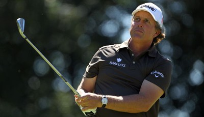 3. Platz: Phil Mickelson (USA), Golf: 46 Mio. Euro