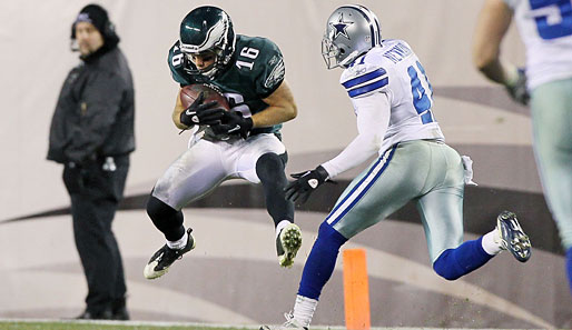 Philadelphia Eagles - Dallas Cowboys 13:14: Flieg Adler, flieg! Leider hat es den Eagles gegen die Cowboys nichts gebracht. Egal, Philadelphia stand schon vorher in den Playoffs