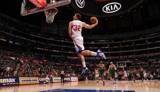 Blake Griffin: Power Forward, Los Angeles Clippers (erstes Allstar-Game)