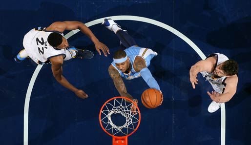 Carmelo Anthony: Small Forward, Denver Nuggets (viertes Allstar-Game)