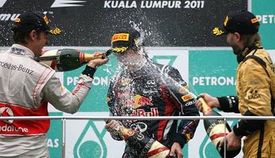 champagner formel 1