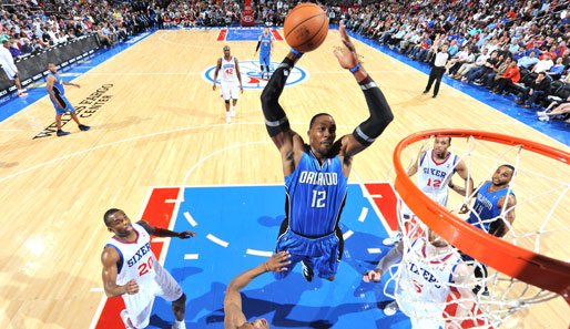 Platz 5 geht in die NBA an den Klub von Dwight Howard, Orlando Magic (6.367.114 Dollar)