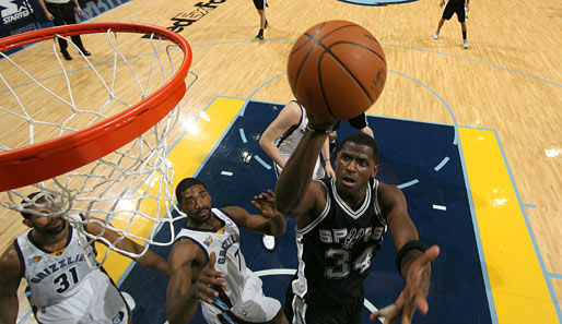 Antonio McDyess (San Antonio Spurs, Forward-Center): 5,3 Punkte und 5,4 Rebounds pro Spiel
