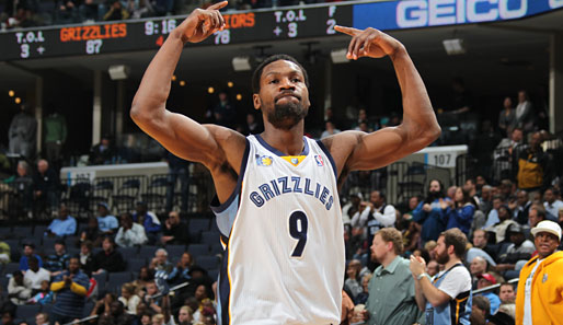 Tony Allen (Memphis Grizzlies, Guard-Forward): 8,9 Punkte pro Spiel