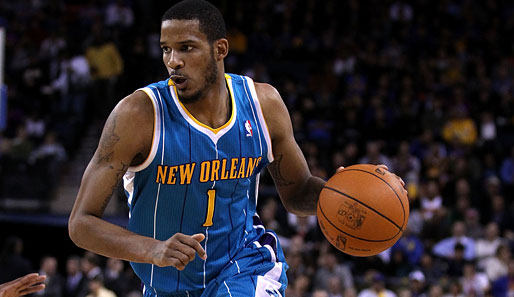 Trevor Ariza (New Orleans Hornets, Guard-Forward): 11,0 Punkte und 5,4 Rebounds pro Spiel