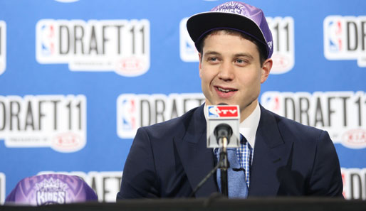 """Teach me how to jimmer"", heißt es bald in der NBA. College-Star Jimmer Fredette wurde beim Draft von den Bucks gepickt und gleich nach Sacramento getradet"