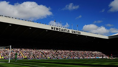 14. Platz: Newcastle United, St. James' Park. Zuschauerschnitt: 47.720