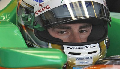 Platz 8: Adrian Sutil (Force India, 38 Punkte)