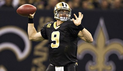 NFC-Quarterback: Drew Brees (New Orleans Saints)