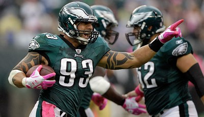NFC-Defensive-End: Jason Babin (Philadelphia Eagles)
