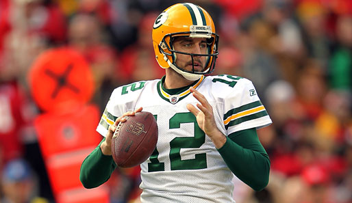 NFC-Quarterback: Aaron Rodgers (Green Bay Packers)