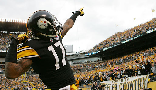 AFC-Wide-Receiver: Mike Wallace (Pittsburgh Steelers)