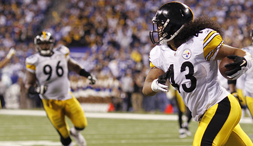 AFC-Safety: Troy Polamalu (Pittsburgh Steelers)