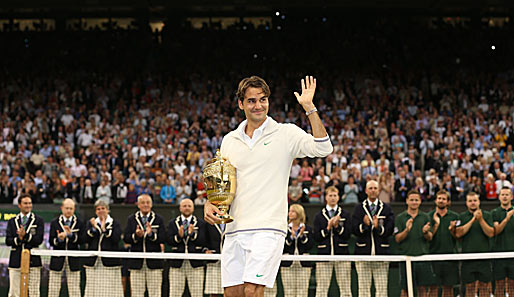 Wir sehen uns bei Olympia: Roger Federer mit Grand Slam Numero 17