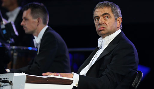 Gesichtsakrobatik at its best. Mr. Bean haut am Piano ordentlich in die Tasten