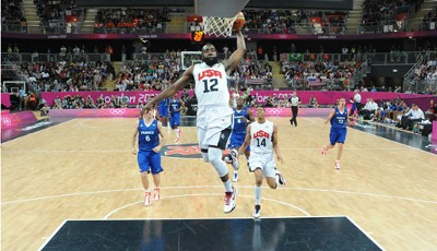 The flying beard. James Harden stopft mit Authorität und Grazie
